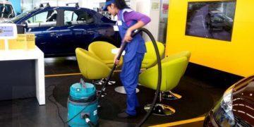 Уборка автосалонов